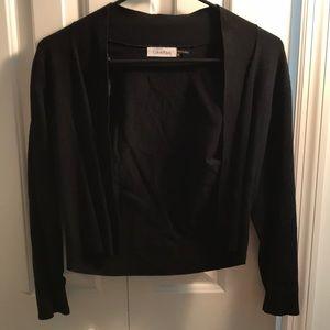 Calvin Klein silk blended cardigan